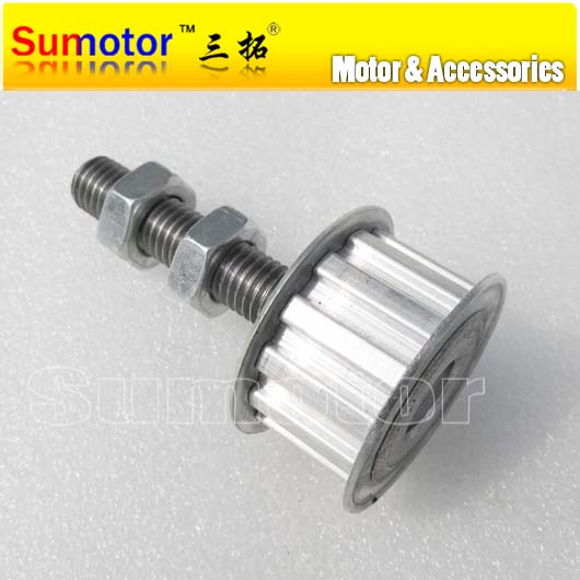 L13T Tensioner Pulleys 13 Teeth Pitch 9.525mm 3/8 Timing Belt Tensioning System easy access adjustment DIY slave drive Sheave<br>