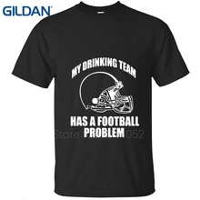 mens t shirts MY DRINKING TEAM HAS A FOOTBALLER PROBLEM Moutain State AMERICAN APPAREL Swag t-shirts tee shirts