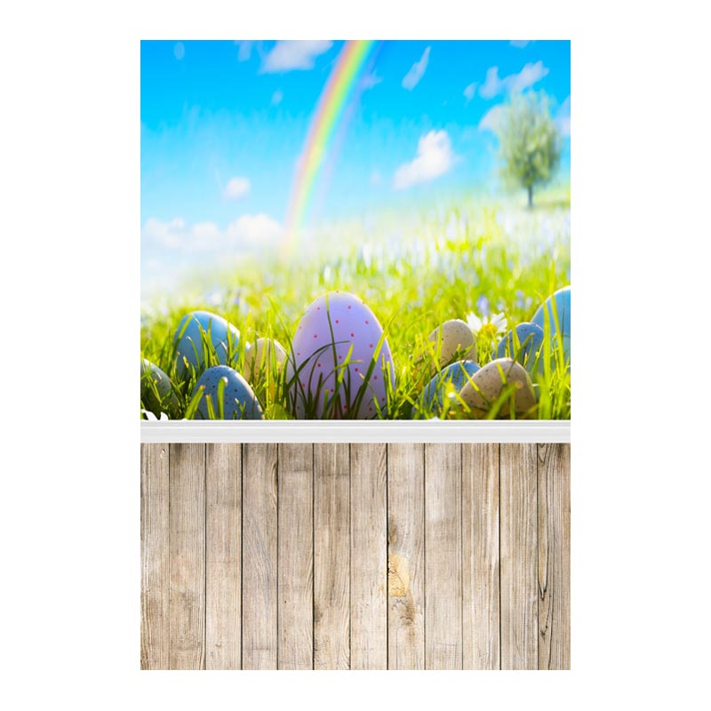 Thin fabric computer Printed photography background Easter colorful eggs photo backdrop for Studio 5X7ft GE-081<br><br>Aliexpress
