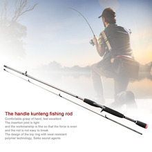 Robust Fishing Sea Rod Straight Handle Pikestaff Grips Pole Fishing Rod Strong Bearing Capacity Resin Fibre Lure Rod Travel Rod