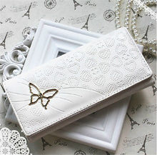 100% New Women Fashion PU Leather Wallet Clutch Case Purse Lady Long Handbag Bag