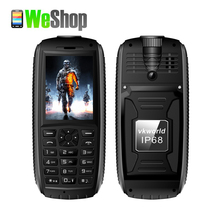 2016 Vkworld Stone V3 MAX Mobile Phone IP68 Water Proof low temperature 5300mAh Long Standby 2.4 inch GSM Dual SIM Cellphone