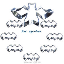 Super Cool Small Batman Shape Cake Cookie Biscuit Baking Molds,Cartoon Cake Decorating Fondant Cutters Tools Direct Selling