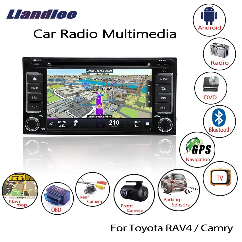 Liandlee For Toyota RAV4 Camry 2000~2006 Android Car Radio CD DVD Player GPS Navi Navigation Maps Camera OBD TV Screen Multimedia4