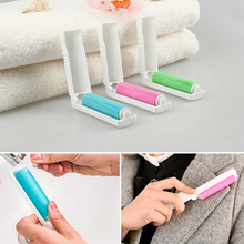 Hot Sale three color clothing dust brush cleaning sweater sticky hair remover brush Washable Carpet Bed Sheet Dust Removal Brush