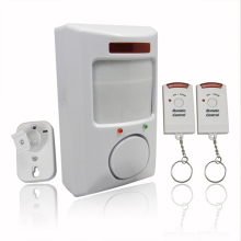 New IR Infrared Sensor Security Detector Home System 2 Remote Control Wireless IR Infrared Motion Sensor Alarm Security Detector