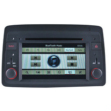 For wince 6.0 7 inch Fiat Panda 2004 onward car dvd player gps with IPOD/Bluetooth/MP5/RDS/FM/optional TMC/TV/rear camera(China)