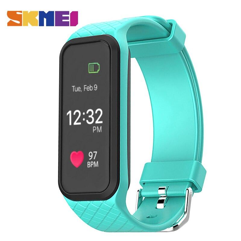 SKMEI Men Watch Sport Outdoor Smart Watches Women Digital Wristwatches Message Reminder Bluetooth Sleep Tracker Clock Top L38I<br>