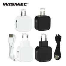 Original Wismec Avatar QC2.0 Quick Charger AT-WC01 Charger US Plug / Euro Plug Charger for QC2.0 Phones e-Cigarettes Battery