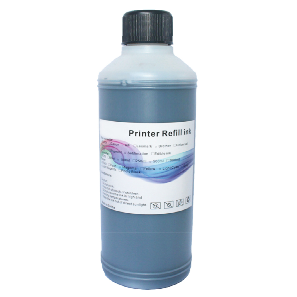 Refill-Kit Printer-Ink Epson Cartridges Black 500ml Canon for Paint Bulk-Ink Ciss HP title=