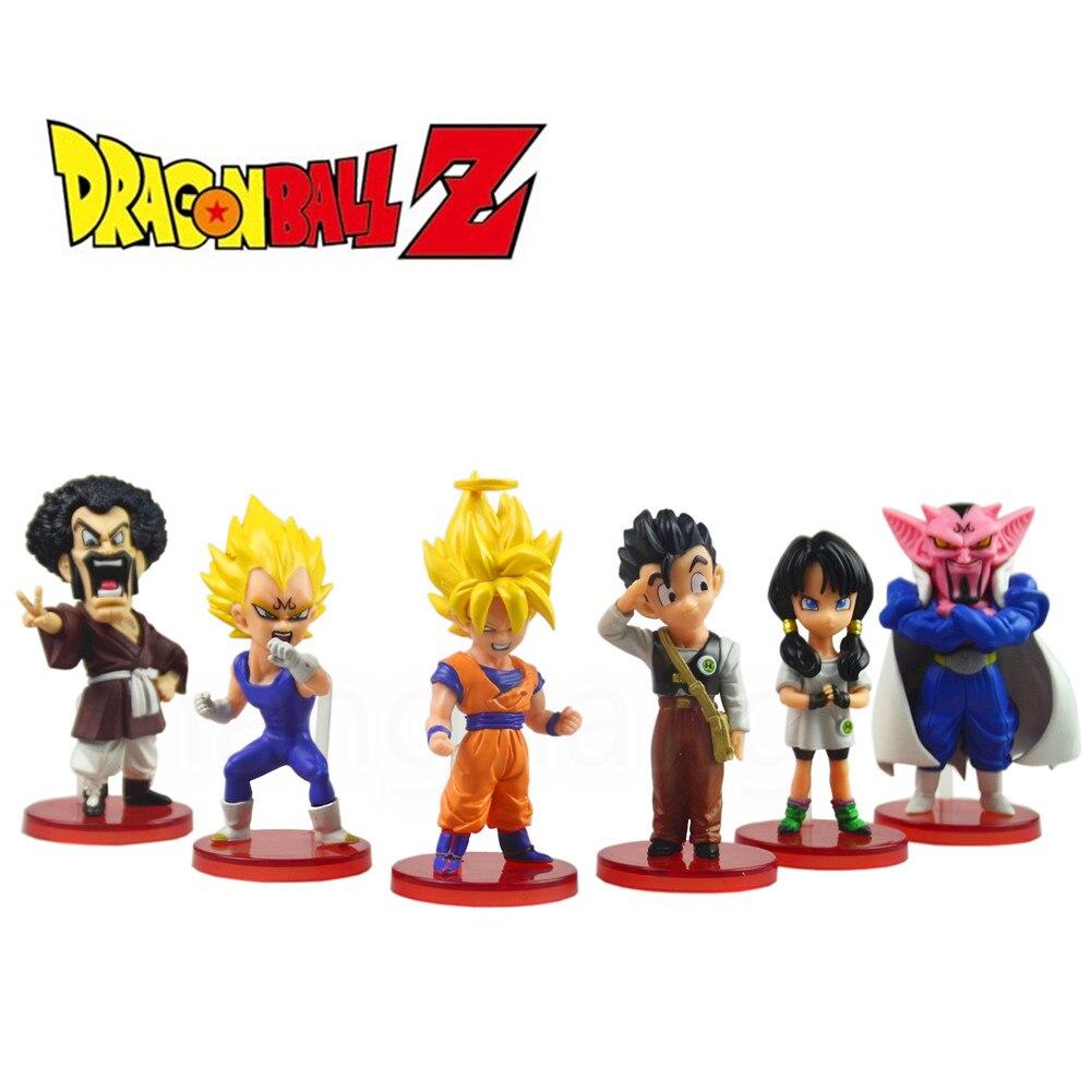 Dragon Ball kai 6pcs Action Figure Budokai Son Goku Gohan Vegeta PVC Model Japanese Anime Figure DragonBall Z Kai Toy<br><br>Aliexpress