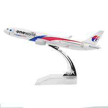 Airplane Malaysia Airlines One world A330 Airlines passenger plane alloy model 16cm/6.3in