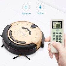 Upgraded Sweeping Robot Vacuum Cleaner Household Smart Automatic Efficient Intelligent Robot cleaner(China)