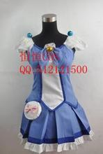 2016 Cosplay Costume Suite PreCure Aoki Reika New in Stock Retail / Wholesale Halloween Christmas Party Uniform