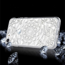 New 3D Luxury Rhinestone Case Cover For Apple iPhone 6 6S 7 Plus 5 5S SE Crystal Diamond Hard Back Mobile Phone Case Cover Shine