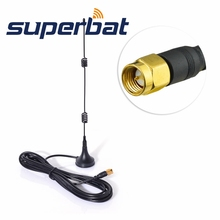 Superbat 2.4GHz SMA 7 dBi Wireless Wifi WLAN Signal Booster Antenna 5X Range Extender