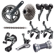 Shimano TIAGRA 4700 10 2*10 Speed 50/34 52/36 170mm 172.5mm Derailleurs Brake Groupset Road Bike Bicycle - MAGE WORLD r Store store