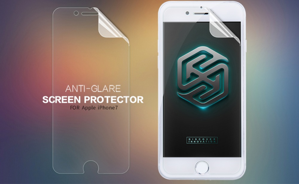 2 pcs/lot Screen Protector iphone 7 NILLKIN Matte Scratch-resistant Frosted Protective Film iphone7 retail package