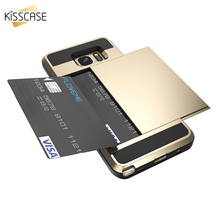 Buy KISSCASE Armor Phone Case Samsung Galaxy Note 8 7 5 4 Case 2 1 Card Slot Soft Cover Samsung Galaxy S6 S7 Edge Plus for $3.49 in AliExpress store