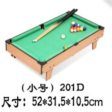 51*31.5cm Whole set Portable game pool table Simulation mini billiard table For Children(China)