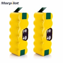 Morpilot 2pcs 14.4V 3800mAh Ni-MH Rechargeable Battery Pack for iRobot Roomba 500 538 600 650 680 770 780 800 880 Vacuum Cleaner(China)