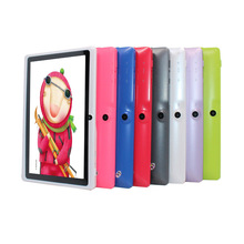 Quad Core 7 inch tablet pc A33 Q88 III 7 Colors Android 4.4 allwinner RAM 512M ROM 4GB best gift pc(China)