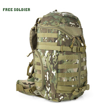 FREE SOLDIER 1000D Nylon Tactical outdoor backpack climbing bag travel hiking camping bag men double-shoulder bag()