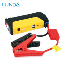 LUNDA High Quality 12V Portable Mini Jump Starter Car Jumper Booster Power Bank for Petrol and Diesel