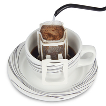 50Pcs / Pack Drip Coffee Cup Filter Bags Hanging Cup Coffee Filters Coffee and Tea Tools(China)