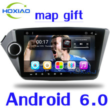 "Car Android 6.0 GPS DVD Player For KIA RIO K2 2010 2011 2012 2013 2014 2015  9"" 2 din car radio Video Player 2Din Navigation"