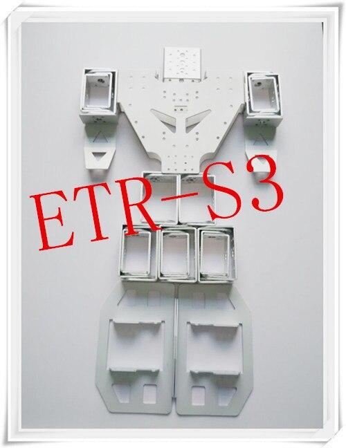17DOF Arduino Humanoid Robot  frame(no servo) control servo Robotic Educational Robot Kit Servo Bracket<br>