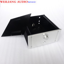 WEILIANG AUDIO CLASS A power amplifier aluminum case(match with WeiLiang filter small CLASS A circuit )BZ2412C(China)