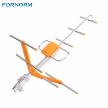 FORNORM Outdoor High Gain HDTV Digital Outdoor TV Antenna 18.6 miles 470MHz-860MHz Roof HDTV Antenna Digital Amplified Outdoor(China)