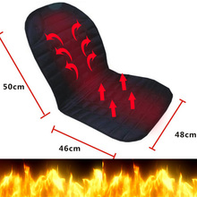 CHina big discount Car heated cushion electric heating pad winter car seat car seat cushion auto supplies