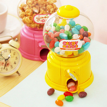 New 1Pcs Lovely Sweets Cute Candy Machine Bubble Gumball Dispenser Coin Bank Kids Toy Children Gift
