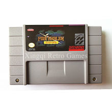 Super Nintendo SFC/SNES Game Fire Emblem Genealogy of the Holy War Video Game Cartridge Console Card NTSC US English Version