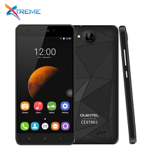 "Original Oukitel C3 3G WCDMA Mobile Phone 5.0"" 1280x720 Android 6.0 MT6580 Quad Core 1.3GHz 5.0MP 1G RAM 8G ROM Dual SIM 2000Mah"