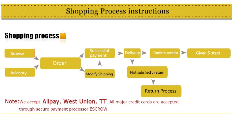 shipping process instructions