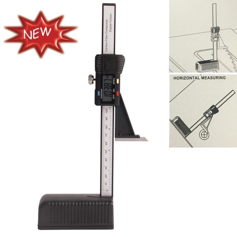 Plastic Digital Height Gauge 0-150mm/6 With Magnetic Base Digital caliper Electronic Measurement Instruments Measuring Tools<br>
