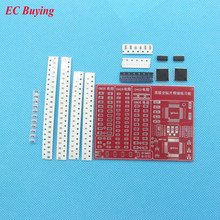 2pcs/lot SMD SMT Components Welding Practice Board Soldering Skill Training Beginner DIY Kit Electronic Kit for Self-Assembly(China)