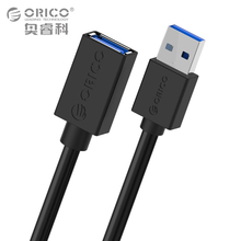 ORICO USB3.0 AM to AF Extension Cable 1.0/1.5 Meter Black/White for SB Keyboard, Mouse, U-disk, Card Reader and More