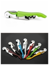 Waiter's Wine Tool Bottle Opener Sea Horse Corkscrew Knife Pulltap Double Hinged Corkscrew ,100pcs/lot Free DHL/Fedex