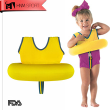 HNM SPORT Kids Life Jacket Vest Swimming Boys Girls Children's Swim School Tot Trainer Swimming Circle Ring Pool Accessories(China)