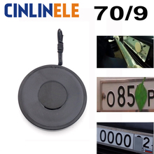 70/9 disappear car license plate number Holding Electric Magnet 20KG/200N Solenoid Sucker Electromagnet DC Free gift a leaves(China)