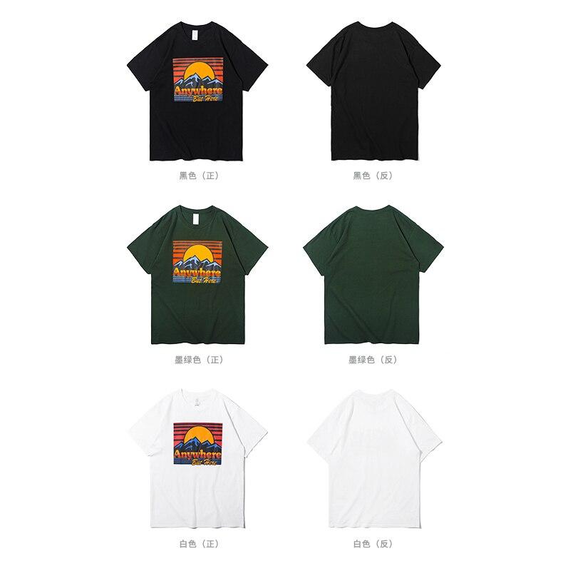 SODA 2018 Marque Vêtements 100% Coton Manches Courtes T-shirts 19
