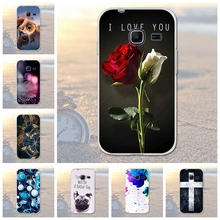for Samsung Galaxy J1 Mini J105 J105H SM-J105H J105F SM-J105 Flower Cartoon TPU Soft Cover Phone Case For Samsung J1 Nxt Duo(China)
