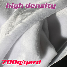 "White  High Density Shaggy Faux Fur Fabric   Costumes  Photography Props  Backdrops  36""x60"" Sold By The Yard  Free Shipping"