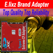 Hot-sale E.lixz WiFi SD SDHC SDXC To CF Type I Compact Flash Memory Card Adapter Reader For 8M~256GB Memory Card 1 pc