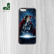 Fashion DIY thor movie poster Printing Pattern Manufacture Phone Protective Case Cover For iPhone 6 6s And 4 4s 5 5s 5c 6 Plus(China)