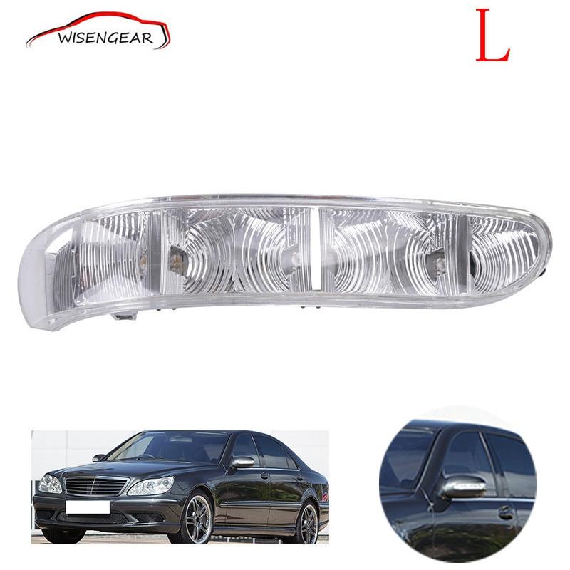 Car Left Door Side Rearview Mirror Turn Signal Light For Mercedes-Benz W220 W215 2208200521 C/5<br><br>Aliexpress